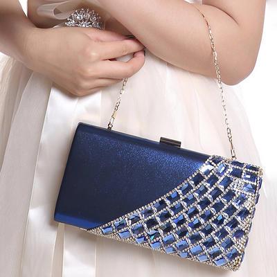 Clutches Ceremony & Party PVC Snap Closure Elegant Clutches & Evening Bags (012187494)