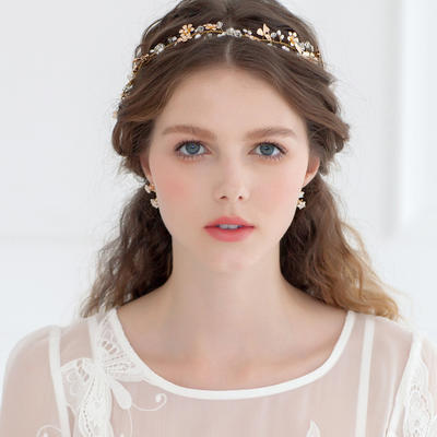 """Headbands Wedding/Special Occasion/Casual/Outdoor/Party Crystal/Rhinestone 12.60""""(Approx.32cm) 1.18""""(Approx.3cm) Headpieces (042156965)"""