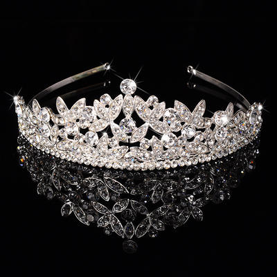 "Tiaras Wedding/Special Occasion/Party Rhinestone/Alloy 1.97""(Approx.5cm) 6.3""(Approx.16cm) Headpieces (042157342)"