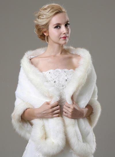 Wrap Fashion Faux Fur Other Colors Wraps (013150001)