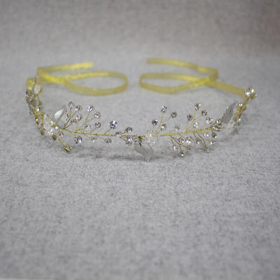 Headbands Wedding/Special Occasion Rhinestone/Alloy Elegant Ladies Headpieces (042158622)