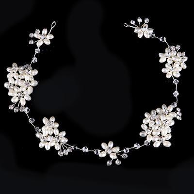 "Headbands Wedding/Party Rhinestone/Alloy 7.87""(Approx.20cm) 1.57""(Approx.4cm) Headpieces (042158722)"
