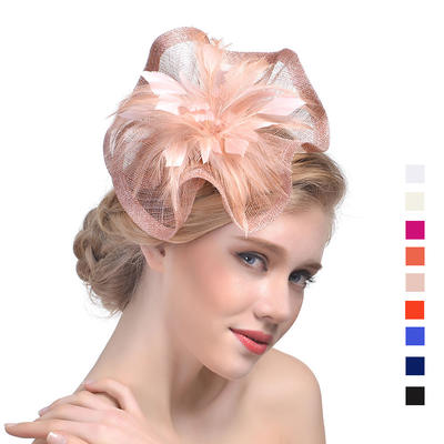 Cambric With Feather Fascinators Beautiful Ladies' Hats (196194669)
