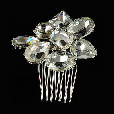 """Combs & Barrettes Wedding/Special Occasion Alloy 2.17""""(Approx.5.5cm) 1.97""""(Approx.5cm) Headpieces (042156350)"""