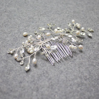 Hairpins Wedding/Special Occasion Rhinestone/Alloy Glamourous Ladies Headpieces (042158631)