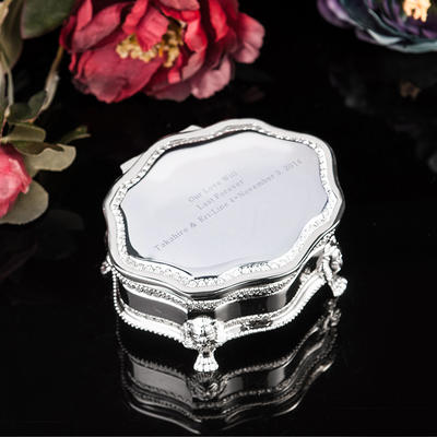 "Jewelry Box Alloy Ladies' Personalized 3.94""(Approx.10cm) Wedding & Party Jewelry (011165008)"