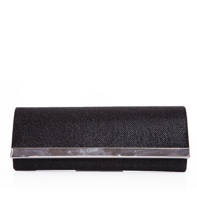 Clutches Wedding/Ceremony & Party Silk Snap Closure Rhinestone Style Clutches & Evening Bags (012184202)