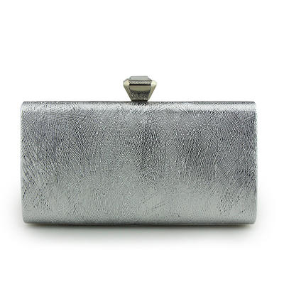 "Clutches/Wristlets Wedding/Ceremony & Party Tulle Snap Closure 7.48""(Approx.19cm) Clutches & Evening Bags (012187568)"