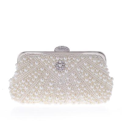 Einkaufstaschen Hochzeit Perlstickerei Magnetverschluss Mädchenhaft Clutches & Abendtaschen (012187092)