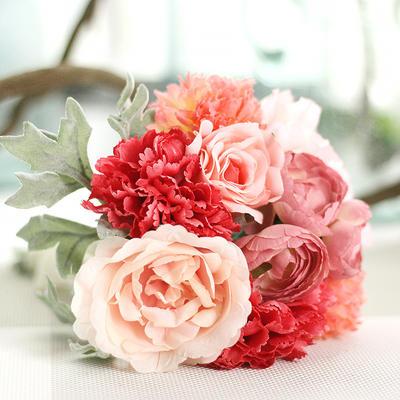 "Bridesmaid Bouquets/Decorations Free-Form Wedding Fabric 10.62""(Approx.27cm) Wedding Flowers (123189477)"
