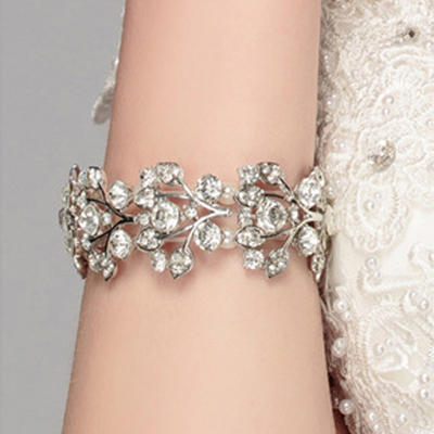 "Bracelets Alloy Ladies' Charming 2.76""(Approx.7cm) Wedding & Party Jewelry (011167410)"