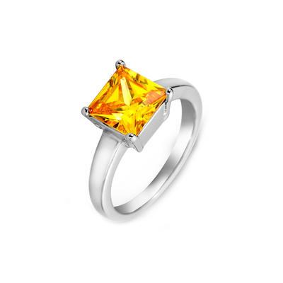 Rings Zircon/Platinum Plated Ladies' Beautiful Wedding & Party Jewelry (011164830)