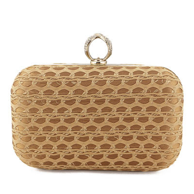 "Clutches Ceremony & Party PU Pretty 6.3""(Approx.16cm) Clutches & Evening Bags (012185523)"