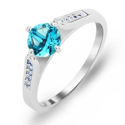 Rings Copper/Zircon/Platinum Plated Ladies' Charming Wedding & Party Jewelry (011165425)