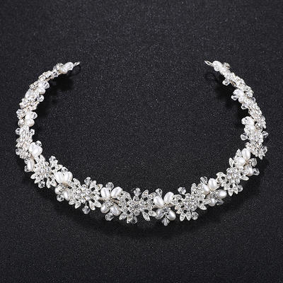 "Headbands Wedding Alloy 13.78""(Approx.35cm) 0.78""(Approx.2cm) Headpieces (042159242)"
