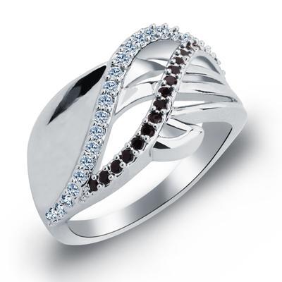 Rings Zircon/Platinum Plated Ladies' Pretty Wedding & Party Jewelry (011165401)