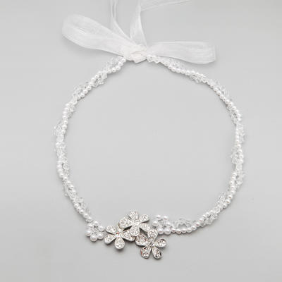"Headbands Wedding/Special Occasion/Party Alloy/Imitation Pearls 21.26""(Approx.54cm) 1.77""(Approx.4.5cm) Headpieces (042154850)"