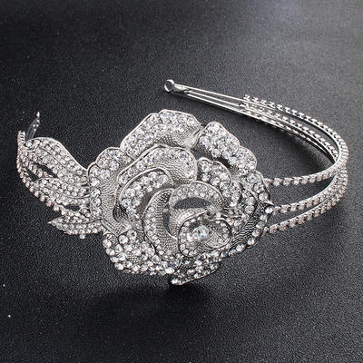 "Tiaras Wedding/Special Occasion/Party Alloy 13.78""(Approx.35cm) 2.36""(Approx.6cm) Headpieces (042157507)"
