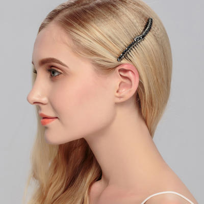 """Combs & Barrettes Wedding/Special Occasion/Outdoor/Party Rhinestone 3.58""""(Approx.9.1cm) 1.89""""(Approx.4.8cm) Headpieces (042156576)"""