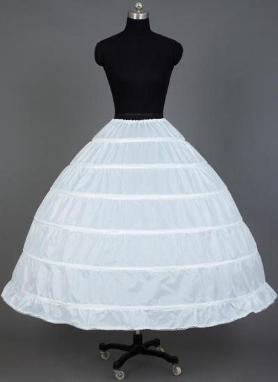 Unterröcke Wadenlang Nylon Ballkleid Gleiten/Volle Kleid Gleiten 1 Ebene Reifröcke (037190710)