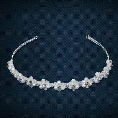 """Headbands Wedding/Special Occasion Crystal/Imitation Pearls/Copper 4.92""""(Approx.12.5cm) 5.31""""(Approx.13.5cm) Headpieces (042155140)"""