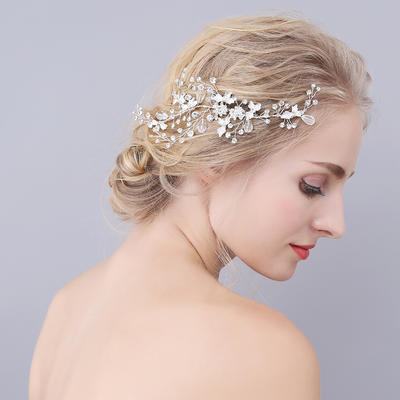 "Combs & Barrettes Wedding/Special Occasion Alloy 7.09""(Approx.18cm) 2.76""(Approx.7cm) Headpieces (042156987)"