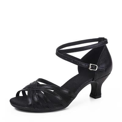 Women's Latin Leatherette Dance Shoes (053183442)
