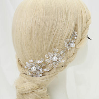 "Headbands Party Crystal/Alloy/Imitation Pearls 6.89""(Approx.17.5cm) 1.97""(Approx.5cm) Headpieces (042155296)"