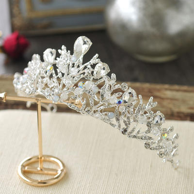 "Tiaras Wedding/Special Occasion/Casual/Outdoor/Party/Carnival/Art photography Crystal/Alloy 2.36""(Approx.6cm) 5.90""(Approx.15cm) Headpieces (042159152)"