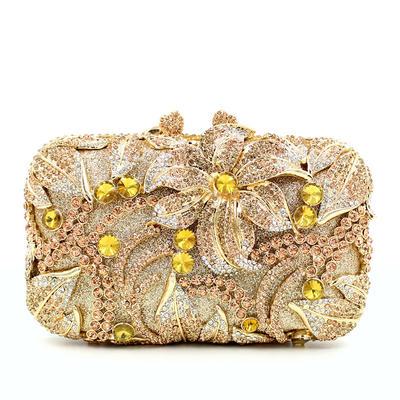 Clutches Wedding/Ceremony & Party Composites Kiss lock closure Elegant Clutches & Evening Bags (012187935)