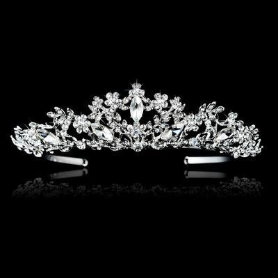 "Tiaras Wedding Alloy 6.3""(Approx.16cm) 1.57""(Approx.4cm) Headpieces (042155867)"