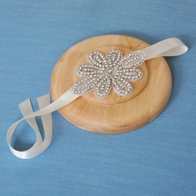 "Headbands Wedding/Special Occasion Satin 4.72""(Approx.12cm) 3.55""(Approx.9cm) Headpieces (042159224)"