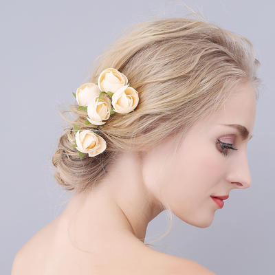 """Hairpins Wedding/Special Occasion 3.15""""(Approx.8cm) 1.57""""(Approx.4cm) Romantic Headpieces (042156993)"""
