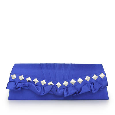 Clutches Wedding/Ceremony & Party/Office & Career Silk Magnetic Closure Fashional Clutches & Evening Bags (012184815)