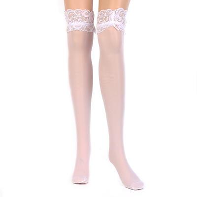 Hosiery Women/Bridal/Lady Wedding/Casual/Daily Wear Chinlon With Lace Garter (104196187)