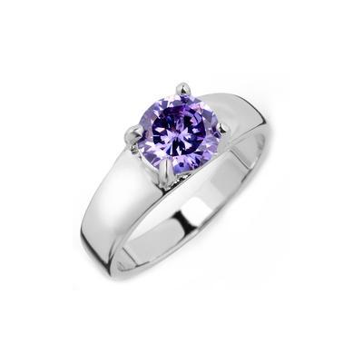 Rings Zircon/Platinum Plated Ladies' Beautiful Wedding & Party Jewelry (011164827)