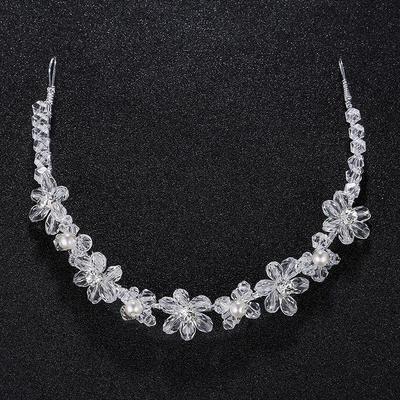 "Headbands Wedding Imitation Pearls 11.22""(Approx.28.5cm) 0.78""(Approx.2cm) Headpieces (042159238)"