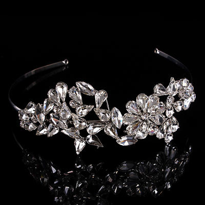 Tiaras Wedding/Special Occasion Rhinestone/Alloy Beautiful Color & Style representation may vary by monitor Headpieces (042157187)