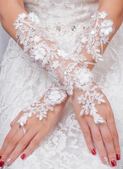 Tüll Damen Handschuhe Braut Handschuhe Fingerless 35cm(Approx.13.78inch) Handschuhe (014192222)