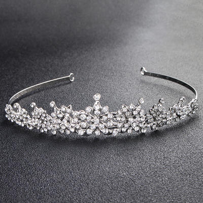 Tiaras Wedding/Party Rhinestone Gorgeous Ladies Headpieces (042158503)