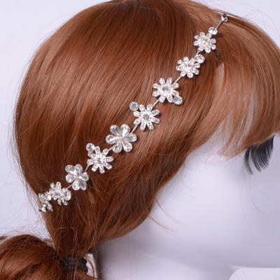 "Headbands Wedding/Special Occasion/Casual Alloy 10.63""(Approx.27cm) 0.98""(Approx.2.5cm) Headpieces (042155502)"