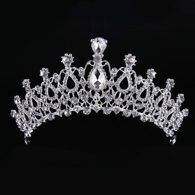 "Tiaras Wedding/Special Occasion Rhinestone/Alloy 2.56""(Approx.6.5cm) 7.87""(Approx.20cm) Headpieces (042158679)"