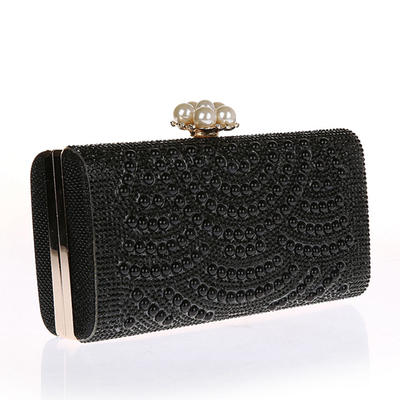 "Clutches Polyester Magnetic Closure Elegant 2.95""(Approx.7.5cm) Clutches & Evening Bags (012188054)"