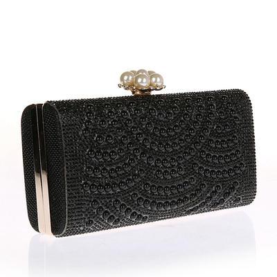 """Handtaschen Polyester Magnetverschluss Elegant 2.95""""(Ungefähre 7.5cm) Clutches & Abendtaschen (012188054)"""