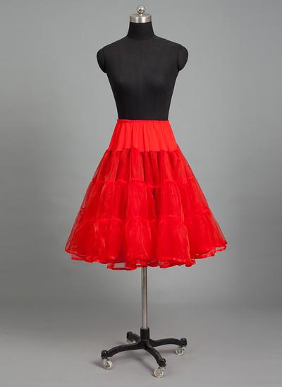 Petticoats Nylon/Tulle Netting Half Slip 4 Tiers Wedding Petticoats (037190792)