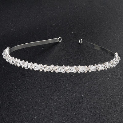 "Tiaras Wedding/Special Occasion/Party Crystal 0.20""(Approx.0.5cm) Stylish Headpieces (042156566)"