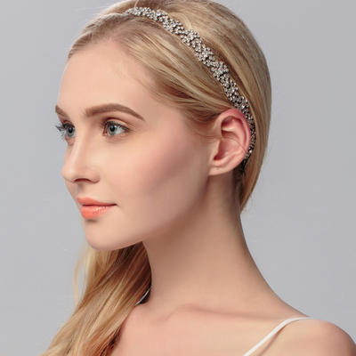 "Headbands Wedding/Special Occasion/Party Rhinestone 9.84""(Approx.25cm) 0.59""(Approx.1.5cm) Headpieces (042156552)"