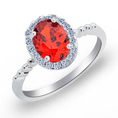Rings Copper/Zircon/Platinum Plated Ladies' Classic Wedding & Party Jewelry (011165415)