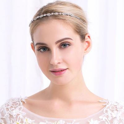 """Tiaras Wedding Rhinestone/Alloy 5.12""""(Approx.13cm) 0.24""""(Approx.0.6cm) Headpieces (042158080)"""