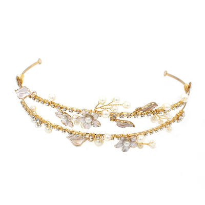 """Tiaras Wedding/Special Occasion/Party/Art photography Alloy 7.09""""(Approx.18cm) 5.53""""(Approx.14cm) Headpieces (042159347)"""